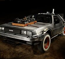 Delorean - Back to the future by SergioRintaro