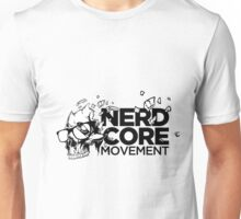 Nerdcore Movement Sticker Unisex T-Shirt