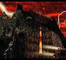 Jurassic Park Adventure by tomandersonart