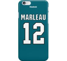 San Jose Sharks Patrick Marleau Jersey Back Phone Case iPhone Case/Skin