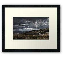 Newby Head, Yorkshire, England. Framed Print