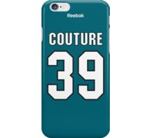 San Jose Sharks Logan Couture Jersey Back Phone Case iPhone Case/Skin