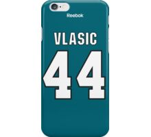 San Jose Sharks Marc-Edouard Vlasic Jersey Back Phone Case iPhone Case/Skin