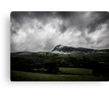 Clouds over Cader Idris Canvas Print