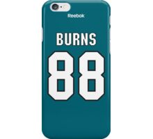 San Jose Sharks Brent Burns Jersey Back Phone Case iPhone Case/Skin