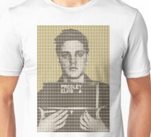 Elvis Army Mug Shot - Gold Unisex T-Shirt