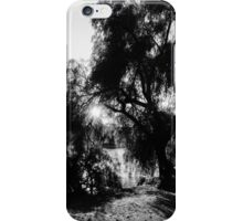 A play of light iPhone Case/Skin
