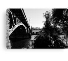 Seville - Triana bridge Canvas Print