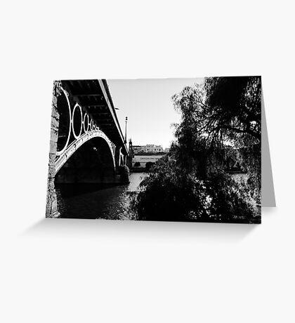 Seville - Triana bridge Greeting Card