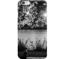 Sunset on the Guadalquivir iPhone Case/Skin