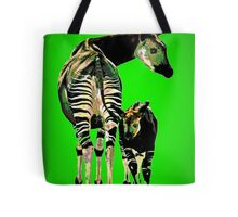 Okapi and Child Tote Bag