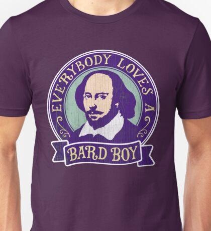 William Shakespeare Bard Boy Portrait Unisex T-Shirt