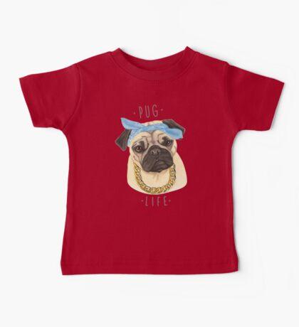 Pug Life Baby Tee