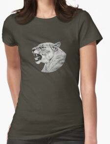 Roaring Lioness Womens Fitted T-Shirt
