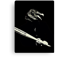 Them Crooked Vultures Canvas Print