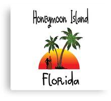 Honeymoon Island Florida. Canvas Print