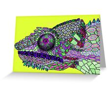 Panther Chameleon!  Greeting Card