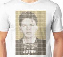 Sinatra Mug Shot - Gold Unisex T-Shirt