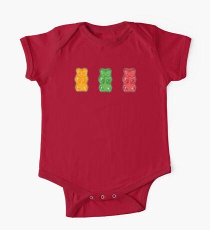 Vivid Gummy Bears One Piece - Short Sleeve