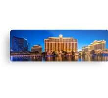 Panorama of the The Bellagio Hotel and Casino  Metal Print