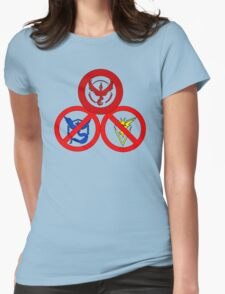 Pokemon GO: Valor Allowed (Red Team) Womens Fitted T-Shirt