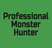 Professional Monster Hunter Baby Tee