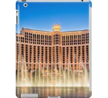 The Bellagio Hotel and Casino along the Strip in Las Vegas, Nevada. iPad Case/Skin