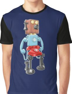 Smartphone Bot 8000 Graphic T-Shirt