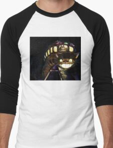Cat Bus  Men's Baseball ¾ T-Shirt