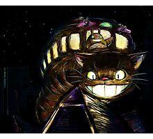 Cat Bus  Photographic Print