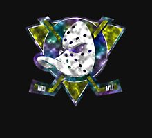 Anaheim Mighty Ducks With Glow Space Unisex T-Shirt