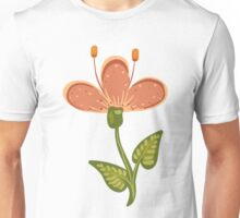 Flower in a rustic style Unisex T-Shirt