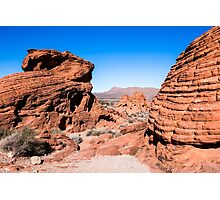 Valley of Fire State Park, Nevada Photographic Print