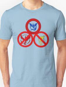 Pokemon GO: Mystic Allowed (Blue Team) Unisex T-Shirt