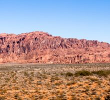 Panorama of Valley of Fire State Park, Nevada Sticker