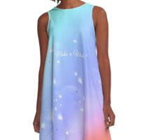 Making Wishes A-Line Dress