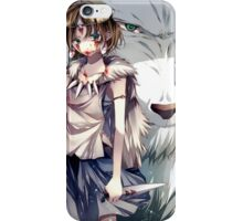 San and Moro  iPhone Case/Skin