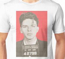 Sinatra Mug Shot - Red Unisex T-Shirt