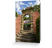 Portmeirion, Wales (2) Greeting Card