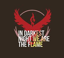 Team Valor - In Darkest Night We are the Flame Unisex T-Shirt