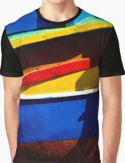 Line of colour Graphic T-Shirt