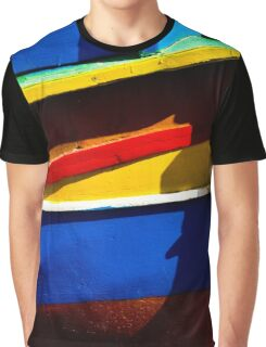 Line of colour Graphic T-Shirt