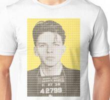 Sinatra Mug Shot - Yellow Unisex T-Shirt