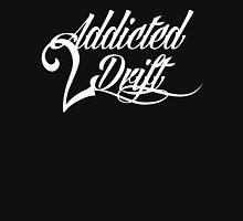 Addicted 2 Drift (WHT) Womens Fitted T-Shirt