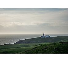 Killantringan Lighthouse on the South West Coast of Scotland Photographic Print