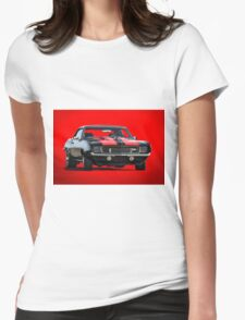 1969 Chevrolet Camaro Z28 Womens Fitted T-Shirt