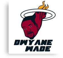 Dwyane Wade - Miami Heat Canvas Print