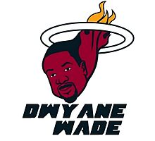 Dwyane Wade - Miami Heat Photographic Print