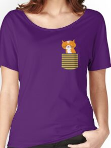 cat in my pocket Women's Relaxed Fit T-Shirt