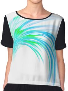 Blue and green should never be seen Chiffon Top